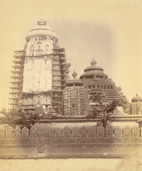 Southern façade of the Jagannatha Temple, Puri